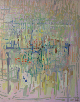 AURORE SUR LES ILES - HUILE SUR TOILE 73 x 93 cm - LOUIS TRABUC