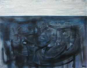 huile sur toile 73 X 93 cm - LOUIS TRABUC