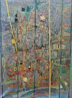 HUILE SUR TOILE - 45 x 61 cm - LOUIS TRABUC