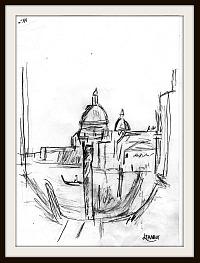 dessin Venise