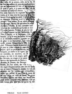 illustration de virgile de giono