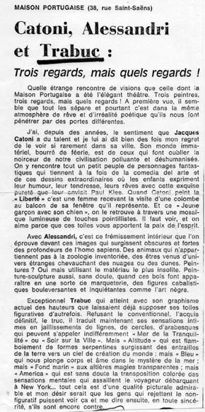 ARTICLE LA MAISON PORTUGAISE