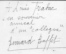 MOT DE BERNARD BUFFET