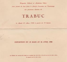 EXPOSITION PALAIS DES ARTS 1980