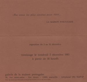 GALERIE PORTUGAISE